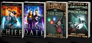 free funny fantasy scifi books