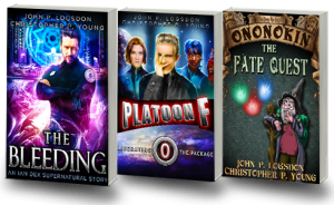 free funny fantasy and supernatural thriller and scifi books