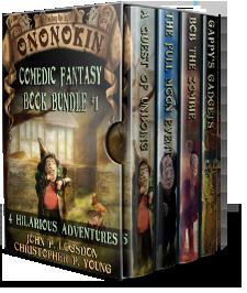 Ononokin funny fantasy books